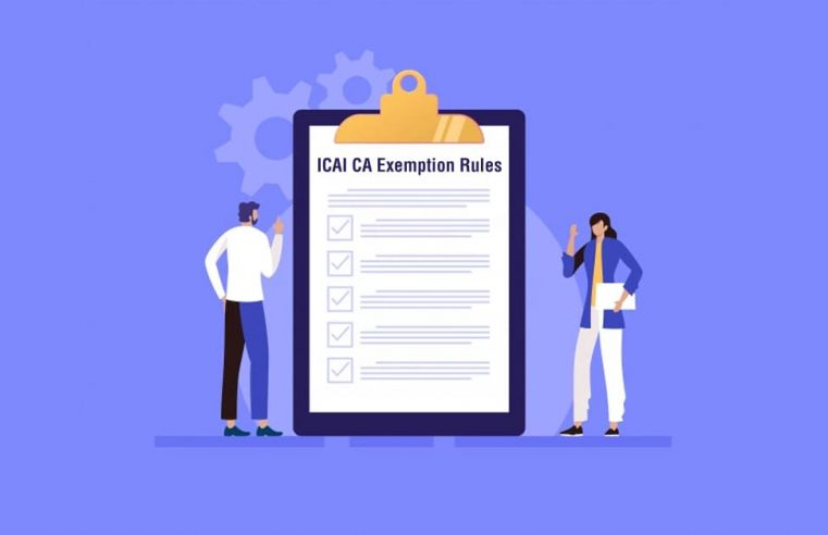 ICAI CA Exemption Rules