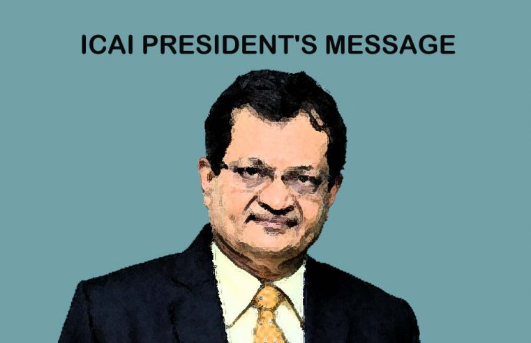 ICAI President's Message – May 2021