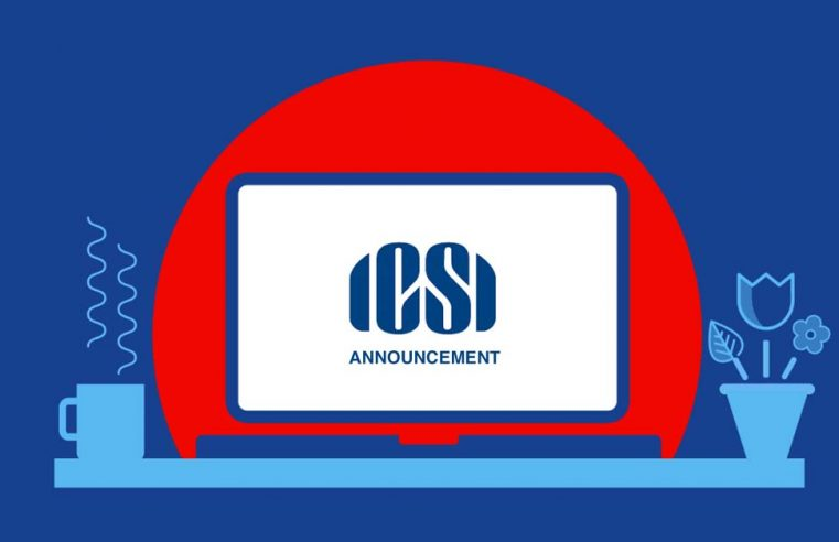 ICSI announces a temporary relaxation in Pre-Examination Test and One Day Orientation Programme for June 2021 CS Exams